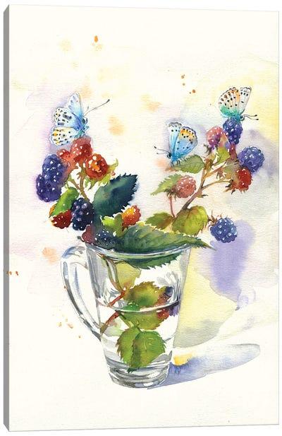 Blackberry Canvas Art Print