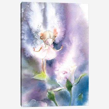Fairy Rose Canvas Print #IGN110} by Marina Ignatova Canvas Wall Art