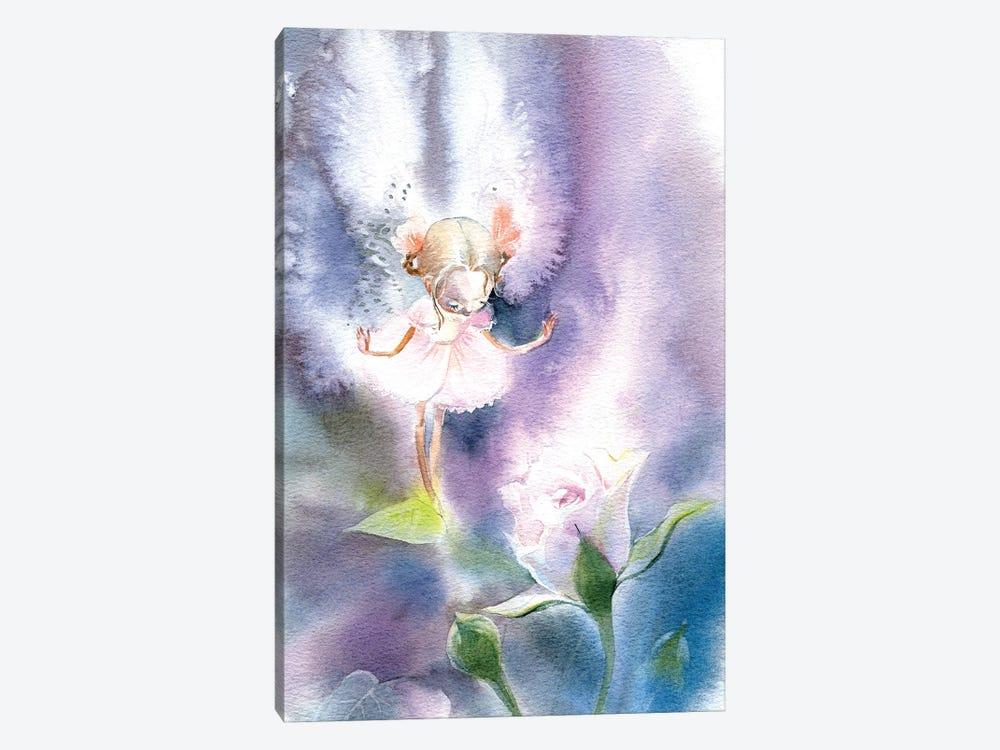 Fairy Rose by Marina Ignatova 1-piece Canvas Art Print