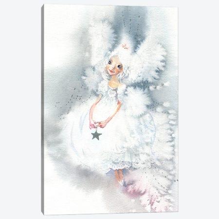 Snow Fairy Canvas Print #IGN111} by Marina Ignatova Canvas Artwork
