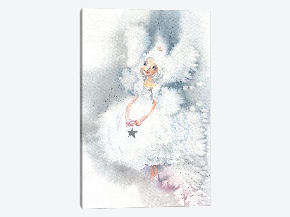 Snow Fairy by Marina Ignatova 1-piece Canvas Art