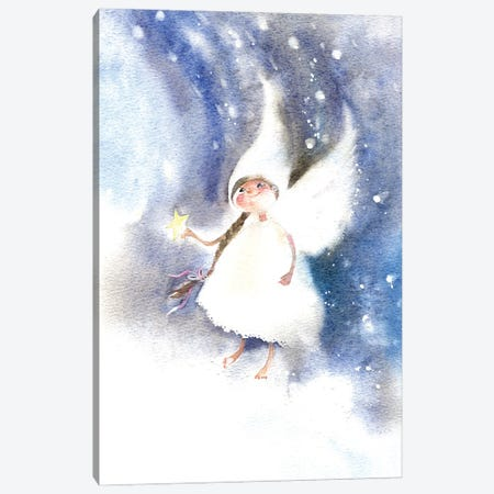 Fairy Of Dreams Canvas Print #IGN112} by Marina Ignatova Canvas Art