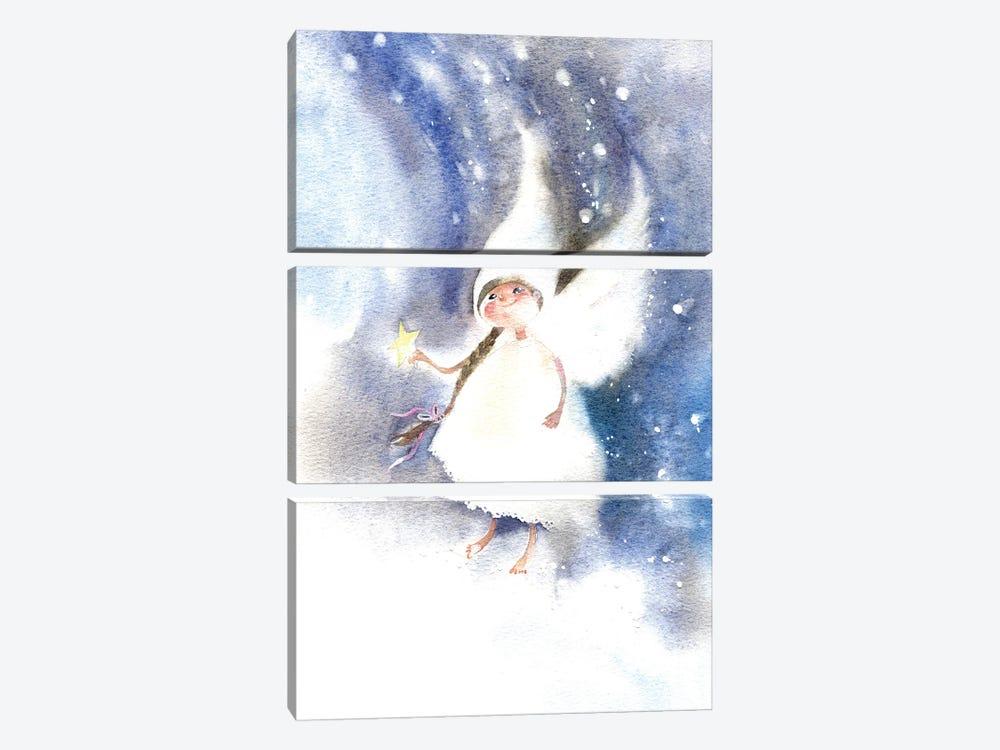 Fairy Of Dreams by Marina Ignatova 3-piece Canvas Art Print