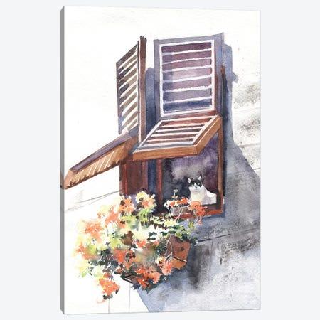 City Tales Canvas Print #IGN11} by Marina Ignatova Canvas Artwork