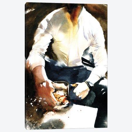 Whiskey Canvas Print #IGN125} by Marina Ignatova Canvas Wall Art