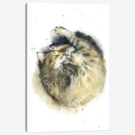 Cat's Dream Canvas Print #IGN133} by Marina Ignatova Canvas Artwork