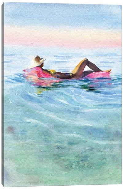 On A Mattress II Canvas Art Print