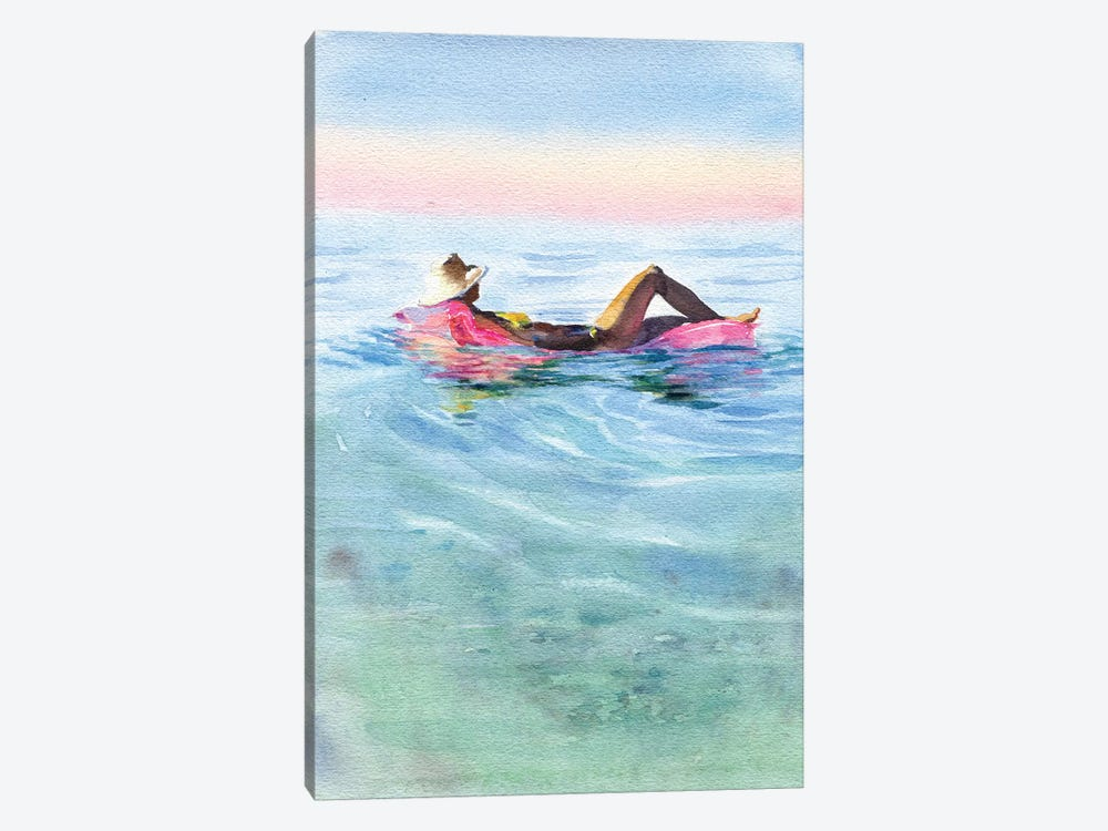 On A Mattress II by Marina Ignatova 1-piece Canvas Wall Art