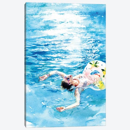 On The Water Canvas Print #IGN27} by Marina Ignatova Canvas Art