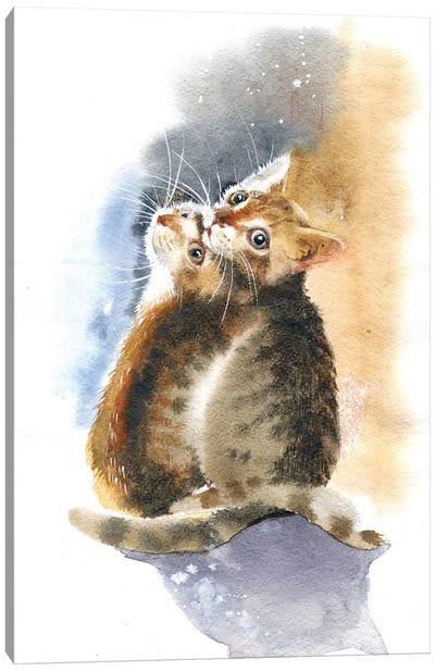 Two Kittens Canvas Art Print