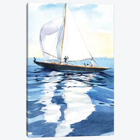 Under The Sails Canvas Print #IGN38} by Marina Ignatova Canvas Wall Art