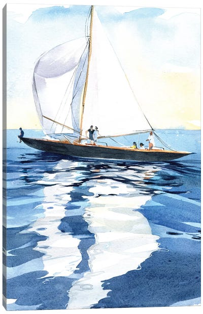 Under The Sails Canvas Art Print