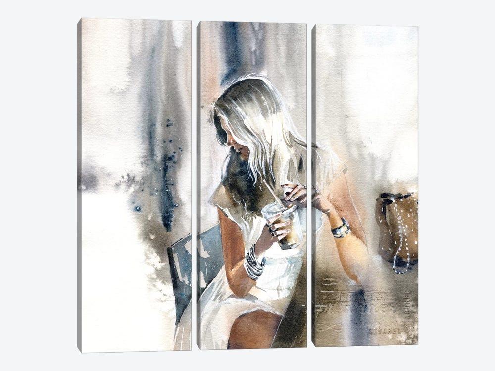 Woman III by Marina Ignatova 3-piece Canvas Artwork