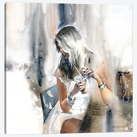 Woman III Canvas Print #IGN40} by Marina Ignatova Art Print