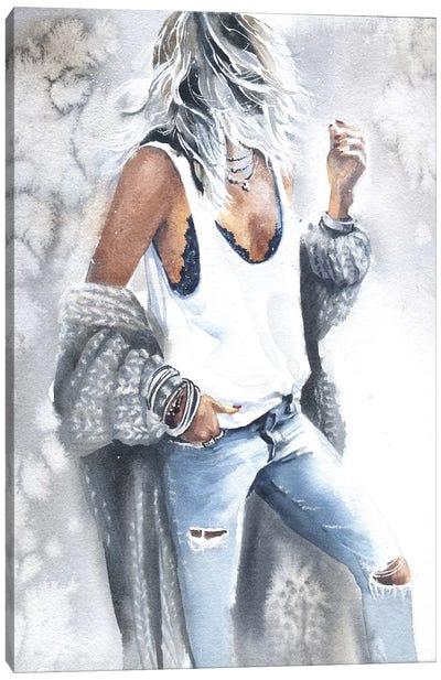 Woman IV Canvas Art Print
