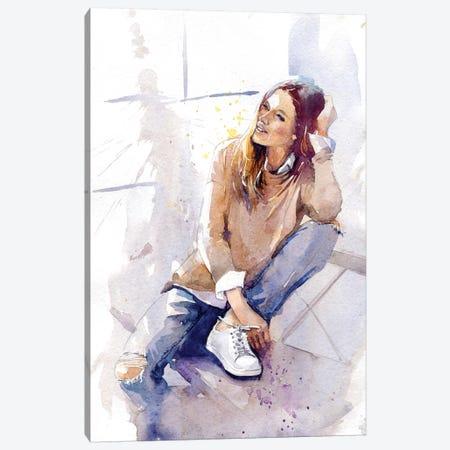 Feel Good Canvas Print #IGN44} by Marina Ignatova Canvas Art