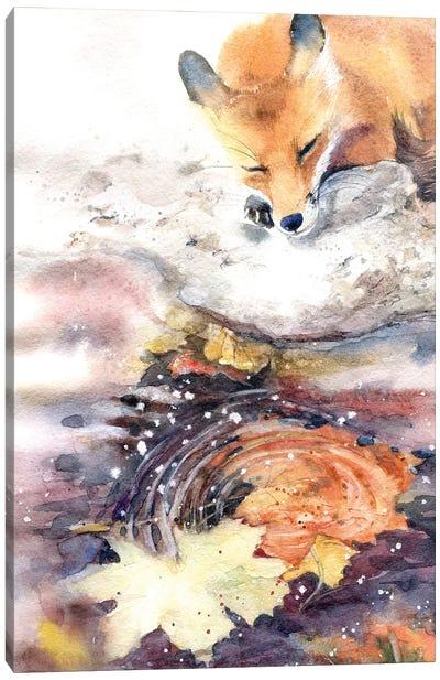 Autumn Melancholy Canvas Art Print
