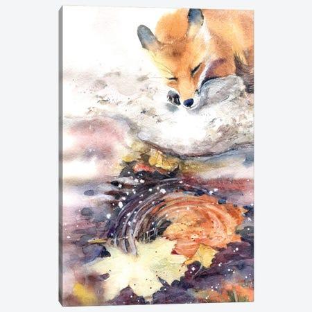 Autumn Melancholy Canvas Print #IGN4} by Marina Ignatova Art Print