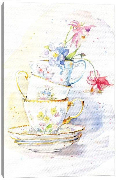 Tea Ware Canvas Art Print