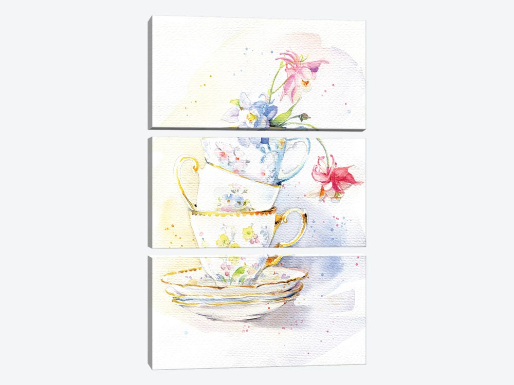 Tea Ware 3-piece Canvas Artwork