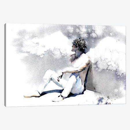 Personal Angel Canvas Print #IGN61} by Marina Ignatova Canvas Art Print
