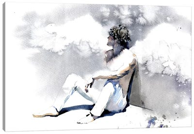 Personal Angel Canvas Art Print