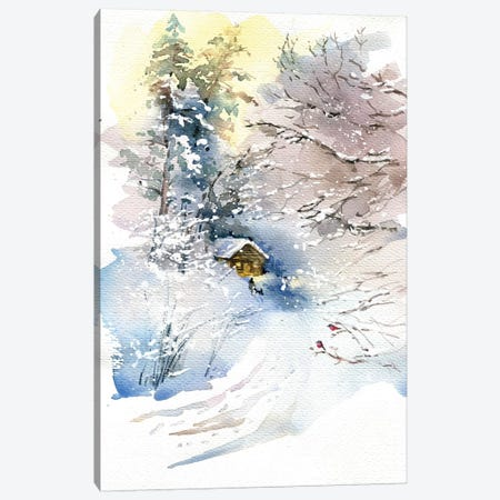 Winter Canvas Print #IGN63} by Marina Ignatova Canvas Art Print