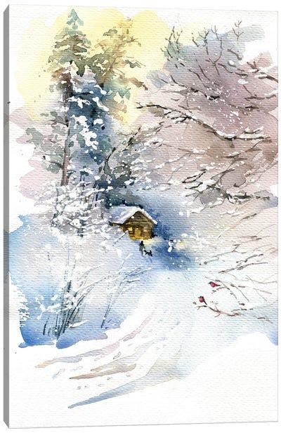 Winter Canvas Art Print