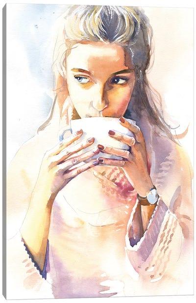 Morning Cocoa Canvas Art Print