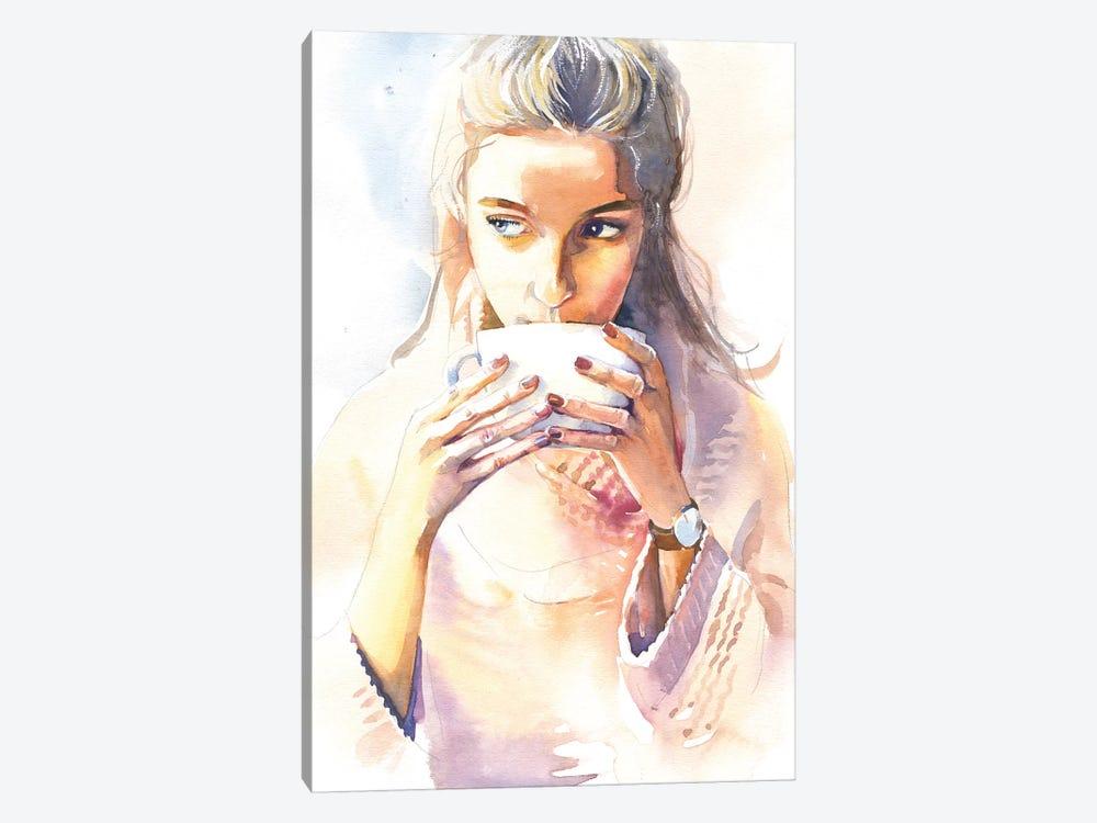 Morning Cocoa by Marina Ignatova 1-piece Canvas Art Print
