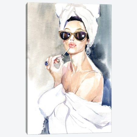 Before The Mirror Canvas Print #IGN6} by Marina Ignatova Art Print
