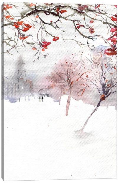 Mountain Ash Boulevard Canvas Art Print
