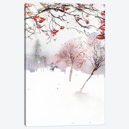 Mountain Ash Boulevard Canvas Print #IGN72} by Marina Ignatova Canvas Art