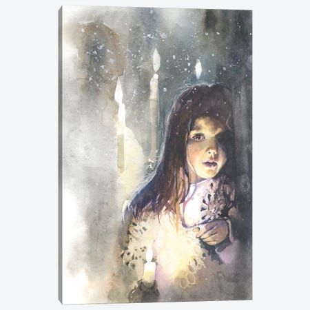 A Meeting Canvas Print #IGN75} by Marina Ignatova Art Print