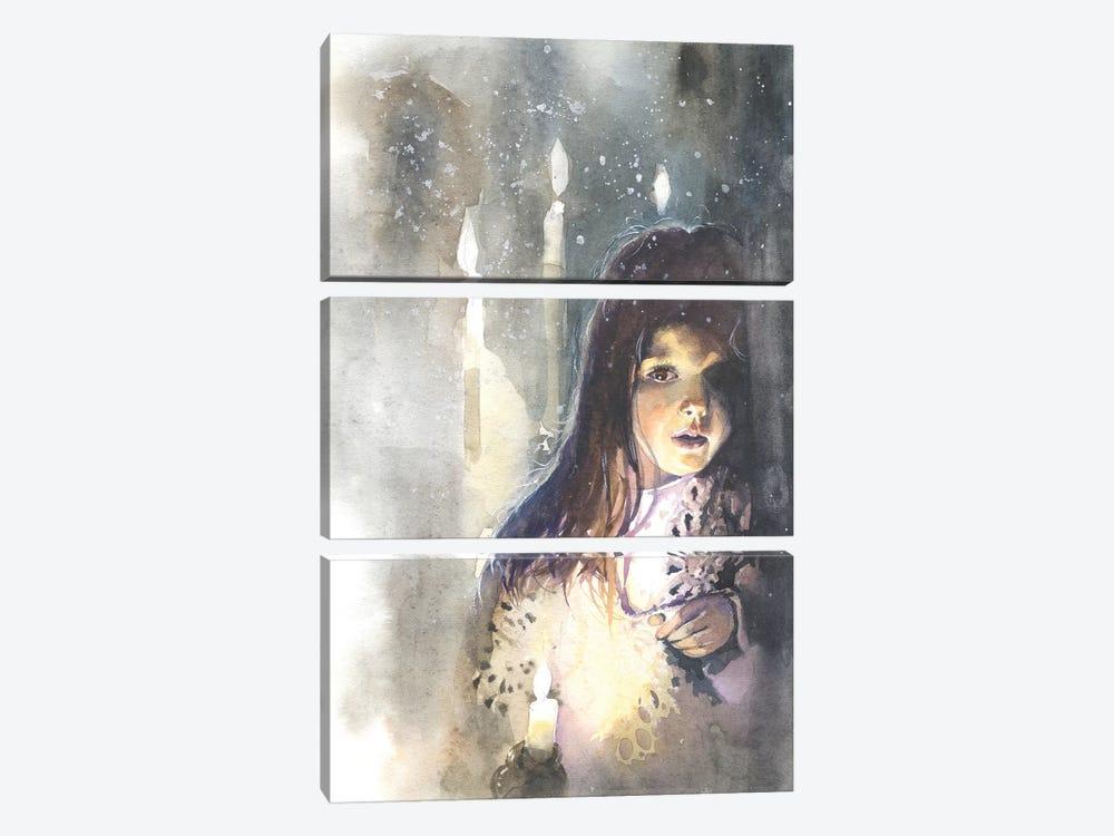 A Meeting by Marina Ignatova 3-piece Canvas Wall Art