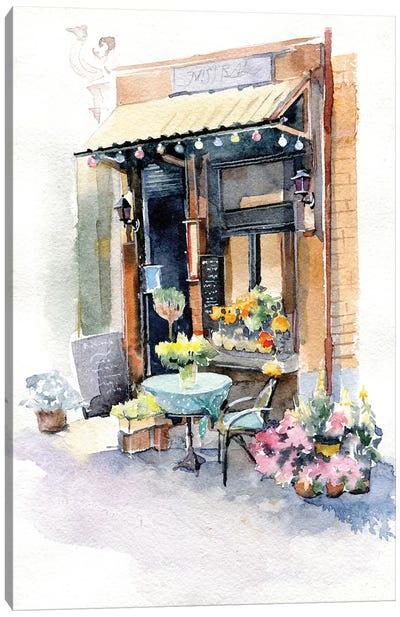 Small Shop Canvas Art Print