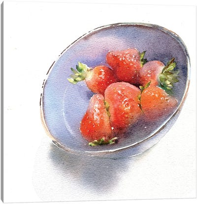 Strawberry Canvas Art Print