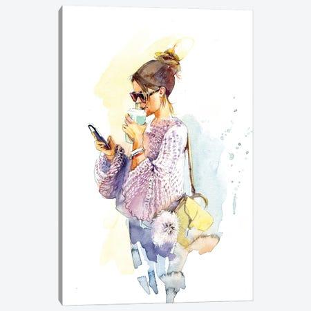 Chance Meeting Canvas Print #IGN90} by Marina Ignatova Canvas Wall Art