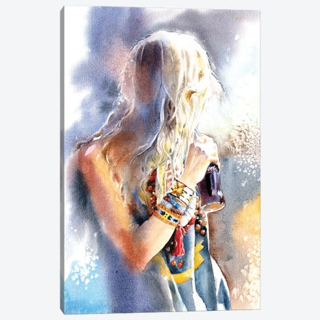 Look Back Canvas Print #IGN91} by Marina Ignatova Canvas Artwork