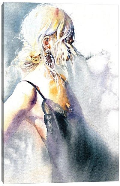 Girl With An Earring Canvas Art Print