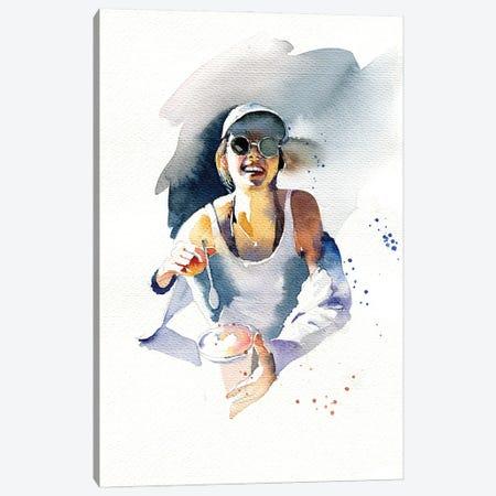 Ice Cream Canvas Print #IGN93} by Marina Ignatova Canvas Wall Art