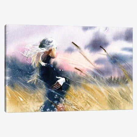Evening Canvas Print #IGN95} by Marina Ignatova Canvas Art Print
