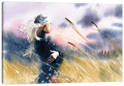 Evening Canvas Art Print