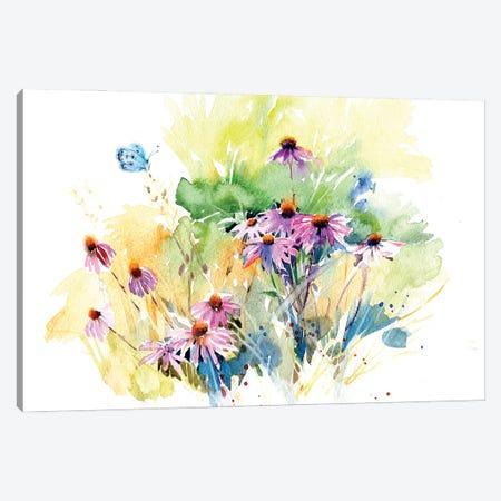 Flower Meadow Canvas Print #IGN98} by Marina Ignatova Canvas Art