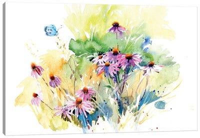 Flower Meadow Canvas Art Print