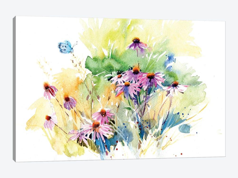 Flower Meadow by Marina Ignatova 1-piece Art Print