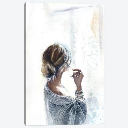 By The Window Canvas Print #IGN9} by Marina Ignatova Canvas Art