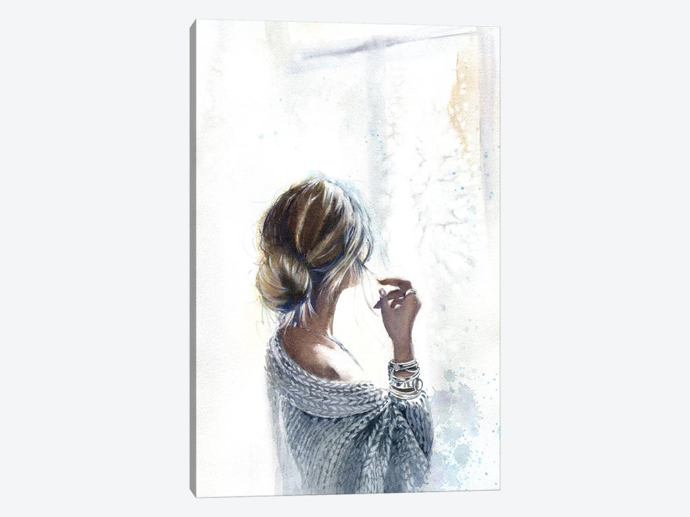 By The Window 1-piece Canvas Artwork