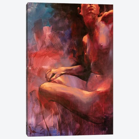 Nude #349 Canvas Print #IGS100} by Igor Shulman Canvas Print