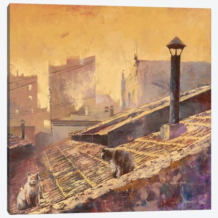 Rome Canvas Print #IGS106} by Igor Shulman Canvas Wall Art